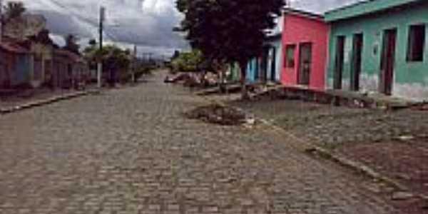 Rua do Cruzeiro em Col�nia Leopoldina-Foto:Luiz Herculano