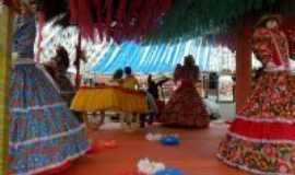 Itagibá - decoração da festa de São joão 2012- Itagibá-Ba, Por Virginia Carriero