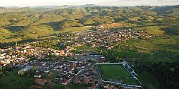 Vista aérea de Itagibá - BA