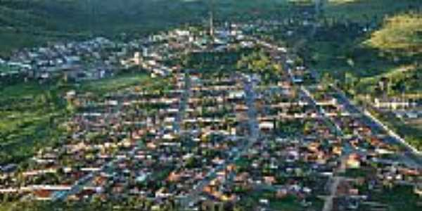 Itagibá-BA-Vista aérea da cidade-Foto:Marcelo S F