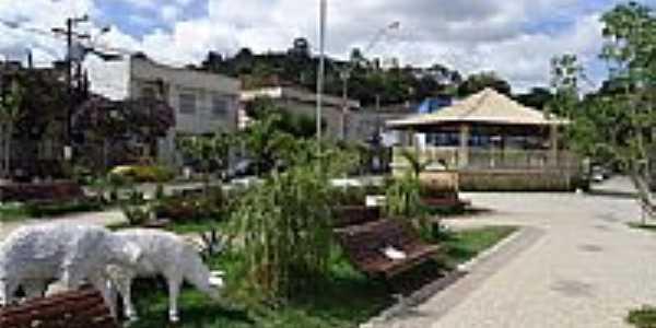 Coreto na Praça Cel.Antônio Pinto em Cordeiro-Foto:Fabrício Rodrigues