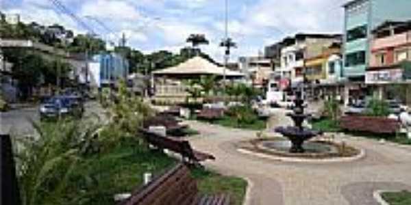 Praça Cel.Antônio Pinto em Cordeiro-Foto:Fabrício Rodrigues