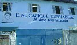 Cunhambebe - Escola Municipal Cacique Cunhãbebe-Foto: mbcajueiro 3