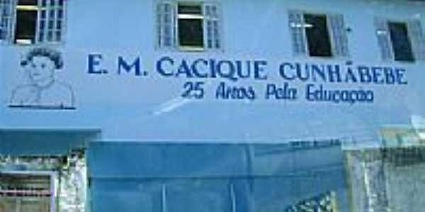 Escola Municipal Cacique Cunhãbebe-Foto: mbcajueiro 3
