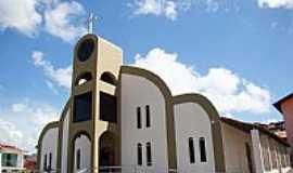 Itagimirim - Itagimirim-BA-Igreja de São João Batista-Foto:Vicente A. Queiroz