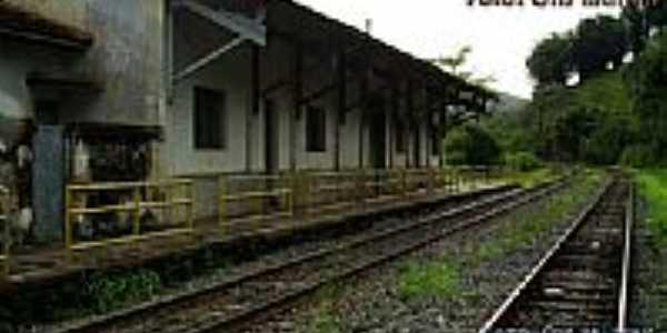 Antiga estação  foto por Cris Martins