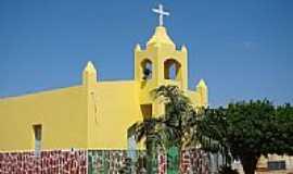 Itagua�u da Bahia - Matriz de N.Sra.da Concei��o em Itagua�u da Bahia-BA-Foto:Vicente A. Queiroz