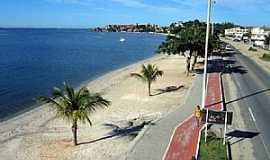 Iguaba Grande - Iguaba Grande-RJ-Vista aérea da orla-Foto:rc24h.com.br