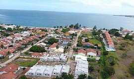 Iguaba Grande - Iguaba Grande-RJ-Vista aérea parcial-Foto:guialagos.com