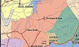 Iguaba Grande - Mapa de localização