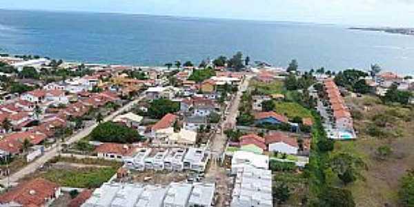Iguaba Grande-RJ-Vista aérea parcial-Foto:guialagos.com