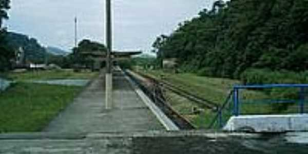 Estação Ferroviária-Foto:Luiz Augusto Barroso