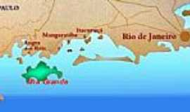 Itacuruça - Mapa de Localização