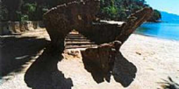 Ruina de barco histórico
