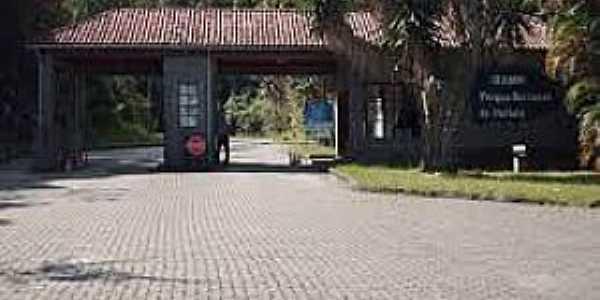 Itatiaia-RJ-Pórtico de entrada do Parque Nacional-Foto:calexbio.blogspot.com