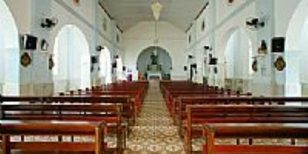 Interior da Igreja de N.Sra.da Piedade em Laje do Muriaé-RJ-Foto:sgtrangel