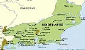 Macaé - Mapa de localização
