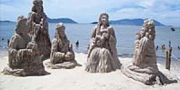 Estátuas de areia[Natal]-Foto:Vagner Soares da Cos…