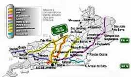 Mendes - Mapa de localização