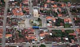 Itaju do Col�nia - Itaju do Col�nia-BA-Vista a�rea do centro da cidade-Foto:itajunewsgmail.