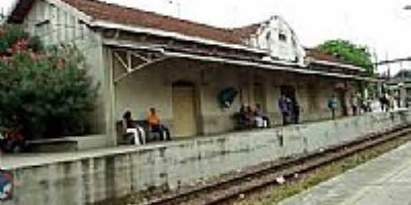 Estação Ferroviária de Nilópolis da Central do Brasil-Foto:Luiz Augusto Barroso