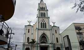 Nova Iguaçu - Nova Iguaçu-RJ-Catedral de Santo Antônio-Foto:mapcarta.com