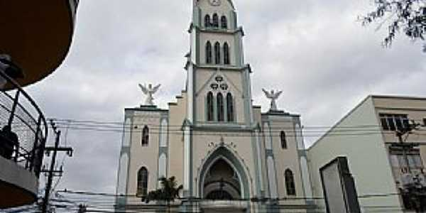 Nova Iguaçu-RJ-Catedral de Santo Antônio-Foto:mapcarta.com