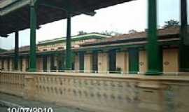 Paraíba do Sul - Antiga Estação Ferroviária em Paraíba do Sul-RJ-Foto:Sergio Falcetti