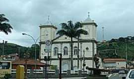 Paraíba do Sul - Praça da Matriz em Paraíba do Sul-RJ-Foto:Rogério Malafaia