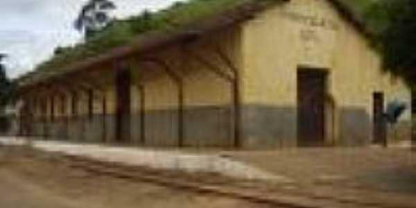 Estação Ferroviária de Paraoquena em 2008-Foto:Ricardo Quinteiro de Mattos