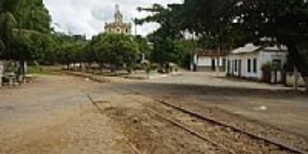 Praça da Matriz em Paraoquena-Foto:Ricardo Quintero de Mattos