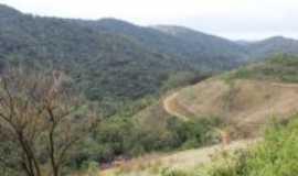 Penedo - Vista do caminho feito pelo passeio de quadriciclo de Penedo, Por GLAISO  PEREIRA