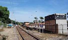 Pinheiral - Pátio da Estação Ferroviária em Pinheiral-RJ-Foto:Jorge A. Ferreira Jr…