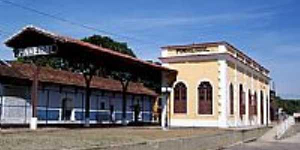 Estação Ferroviária-Foto:Jorge A. Ferreira Jr…