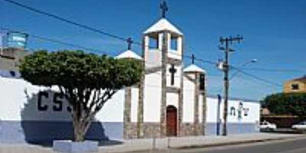 Itamaraju-BA-Uma bonita Igreja no centro-Foto:Carlos H. Silva de Souza