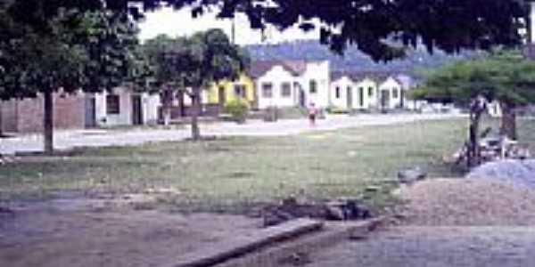 Praça Pau Brasil em Itamari-BA-Foto:nelson ribeiro