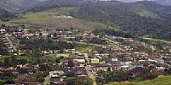 Vista aérea da cidade de Itamari-BA-Foto:nelson ribeiro