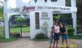 Raposo - Fontanário Raposo, a primeira fonte de água mineral, completa cem anos neste ano de 2011., Por Zemaria  e  Netinha