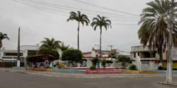 Praça da Bandeira - Centro - Itambé Agora, Por Reginaldo Spínola - Blog Itambé Agora
