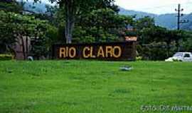 Rio Claro - Entrada da cidade de Rio Claro-RJ-Foto:Cris Martins