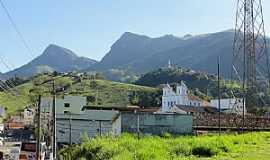 Rio Claro - Rio Claro-RJ-Vista parcial da cidade com montanhas ao fundo-Foto:nelson.reisfilho