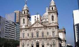 Rio de Janeiro - Rio de Janeiro-RJ-Matriz de N.Sra.da Candelária-Foto:Vicente A. Queiroz