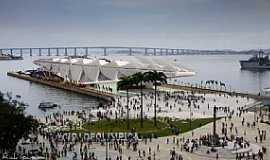 Rio de Janeiro - Rio de Janeiro-RJ-Museu do amanhã na Praça Mauá-Foto:www.flickr.com