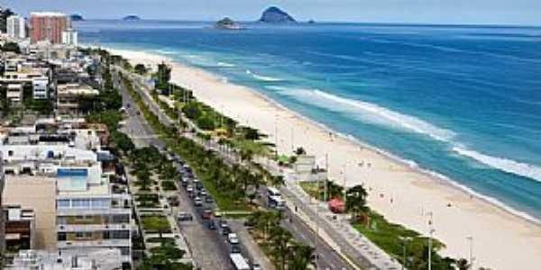 Rio de Janeiro-RJ-Orla da praia da Barra da Tiluca-Foto:Adriano Martins