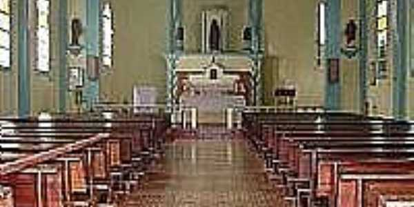 Itamira-BA-Interior da Igreja Matriz-Foto:wikimapia.