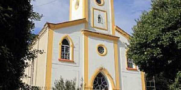 Santa Isabel do Rio Preto-RJ-Igreja Matriz-Foto:Halley Pacheco de Oliveira
