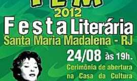 Santa Maria Madalena - 3ª FESTA LITERÁRIA DE SANTA MARIA MADALENA