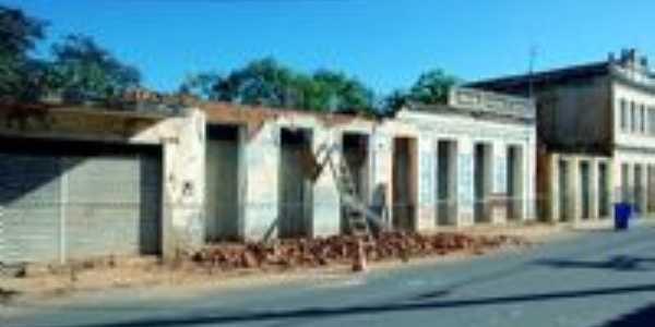 ruinas na praça Nilo Peçanha, Por Manoel Alfredo