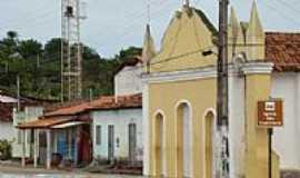Itanagra - Itanagra-BA-Igreja no centro da cidade-Foto:itanagranoticias.
