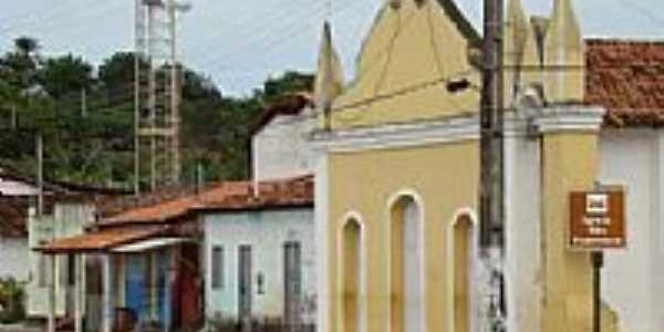 Itanagra-BA-Igreja no centro da cidade-Foto:itanagranoticias.